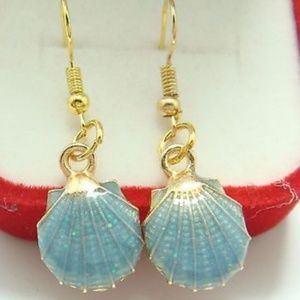 Jewelry - 🌴Handpainted Seashell Fashion Earrings